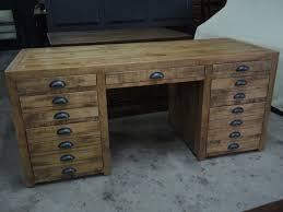 bureau atelier meuble rustique
