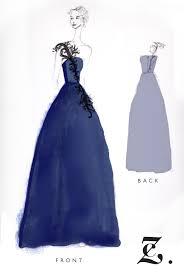 behind the scenes designing a custom dress u2014 caroline z