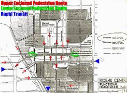 rideau centre history part 6 the transit mall urbsite