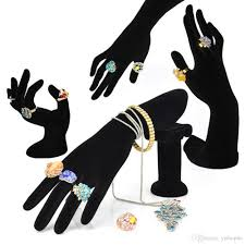bracelet hand display images 2018 hand shaped ring stand bracelet holder bangle rack jewelry jpg