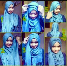 tutorial hijab pashmina kaos yang simple 15 tutorial hijab untuk pipi tembem terbaru dan simple hijabyuk com