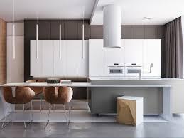 modern kitchen interiors two apartments with sleek grayscale interiors kitchen pinterest