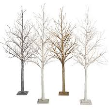 led glitter tree 7 potted plants trees botanicals plants