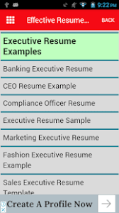 effective resumes tips effective resume tips guide android apps on play