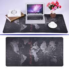 desk size mouse pad world map design wide large computer mouse pad big size desk mat for