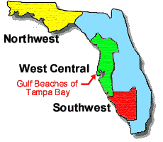 map of gulf coast florida directory the entire florida gulf coast in detail