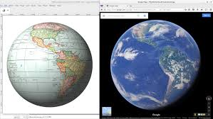Earth Globe Map World by Gleason Flat Earth Map To Mercator Projection To Globe Youtube