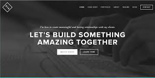 resume websites examples 10 steps to the perfect portfolio website plus 40 examples devon stank does an outstanding job of using a tagline that is simple yet gets right to the point of what he can do for you