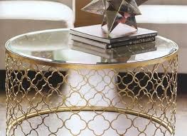 fabulous coffee table decor ideas with bright look modern round