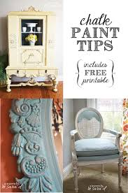 chalk paint tips chalk paint free printable and wax