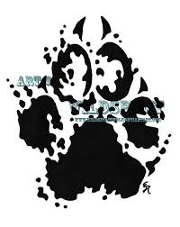 paw print splatter tattoo design photo 2 photo pictures and