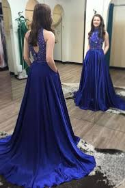 royal blue prom dress on luulla