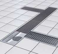 siphon de sol cuisine professionnelle aco caniveaux à grille en acier inoxydable pour les cuisines