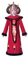 deluxe star wars queen padme amidala childs girls fancy dress
