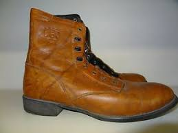 womens brown cowboy boots size 11 s size 11 brown leather lace up cowboy boots by ariat ebay