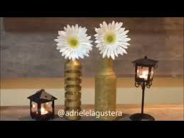 use of wasted material bottles for home decoration recycle