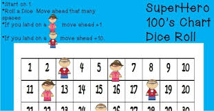 printable hundreds chart free superhero hundreds chart game free printable teach junkie