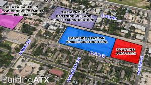 Domain Austin Map by Building Atx Condos And Office Space On The Way For East Austin