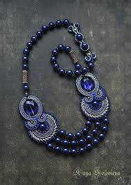 handmade necklace with beads images 2637 best soutache and beaded embroidery images jpg