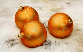orange coloured christmas decorations u2013 decoration image idea