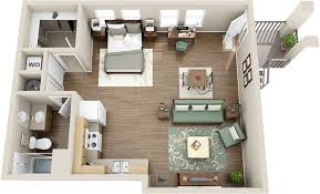 Studio Apartment Floor Plans Studio Apartments Hillcrest Durango Apartments