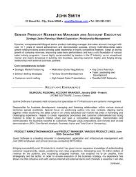 Senior Resume Template Click Here To This Senior Product Manager Resume Template