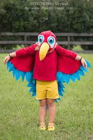 sew an easy parrot costume make it and love it