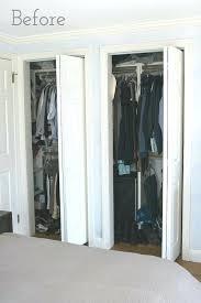 48 Inch Closet Doors Bifold Closet Door Turn Your Bi Fold Door Into Doors With