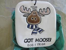 100 national loons vacation ornaments moose