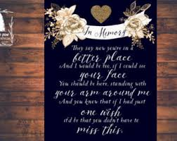 wedding memorial sign i really like this wedding ideas pine card stock