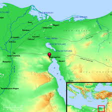 The Red Sea Map Exodus 14 Crossing The Red Sea Bible Chapter Por Dia