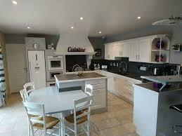 cuisine peinte cuisine repeinte en blanc idées décoration intérieure