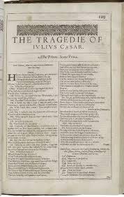 julius caesar or how william shakespeare hit a grand slam rome