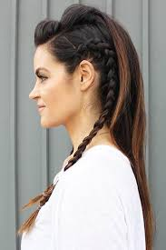 hair styles for viking ladyd 7 best vikings hair images on pinterest braided hairstyles