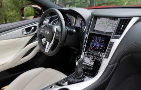 infiniti interior 2017 2017 infiniti q60 red sport 400 test drive review autonation