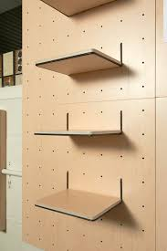 Peg Board Shelves by Versatile Function Pegboard Organizers By Yvonne Mouser Remodelista