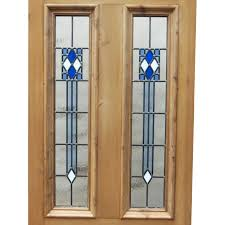 Stained Glass Door Panels by Art Deco 4 Panel Stained Glass Door Period Home Style