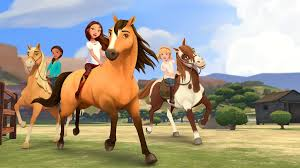 spirit of halloween jobs first look dreamworks animation u0027s u0027spirit riding free u0027 headed to