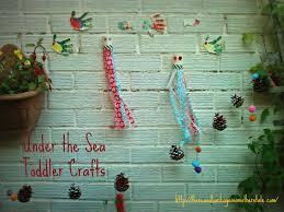 toddler octopus craft and fuschia flowers in an octopus u0027 garden