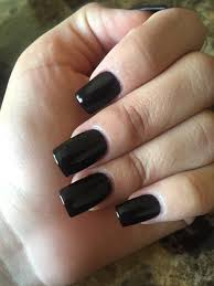 lincoln park after dark by opi on square acrylic nails nails