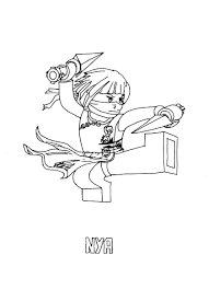 zane ninjago coloring pages for kids printable free coloring