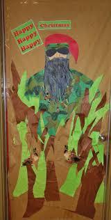 christmas door decorating ideas duck dynasty christmas