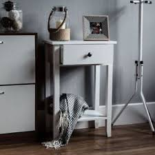 desk with shelves on side windsor 1 drawer console table shelf hallway side end dressing table