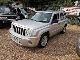 2008 jeep patriot 2 0 crd limited station wagon 4x4 in great