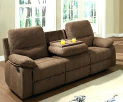 Sectional Recliner Sofa With Cup Holders Leather Reclining Sofa Cup Holders Sectional Recliner Chocolate