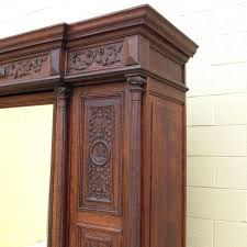 Antique Jewelry Armoires Black Jewelry Armoire Vintage Wardrobe Closet Antique French