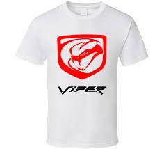 dodge viper t shirt viper generation 5 logo t shirt
