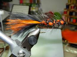 brown streamers fall streamers fly fisherman