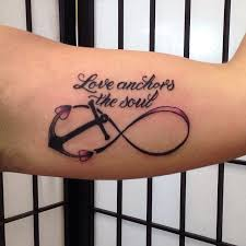 Best Love Anchors The Soul - 42 anchor infinity symbol tattoos