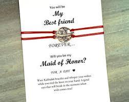 bridesmaids invites of honor invite etsy